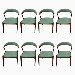 Vintage Dining Chairs by Johannes Andersen, 1960s, Set of 8