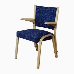 Vintage Armlehnstuhl aus Bugholz von Wilhelm Von Bode für Steiner