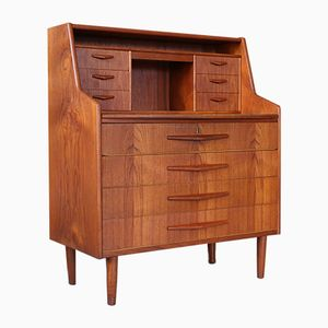 Mid-Century Danish Writing Cabinet, 1960s