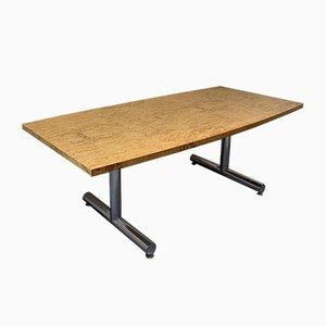 Large Vintage Burr Ash Desk from Pieff