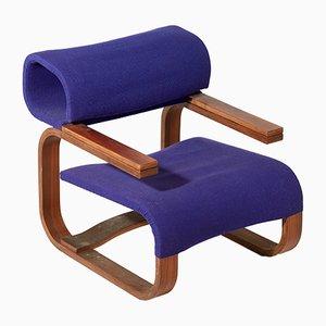 Vintage Sessel von Jan Bocan für Thonet, 1972