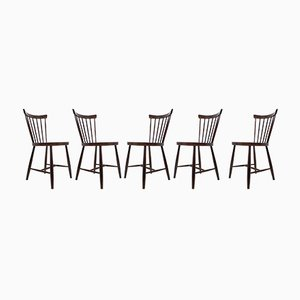 Dining Chairs from Tatra Pravenec, 1960s, Set of 5