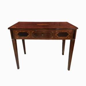 Table Console Antique en Noyer, Italie