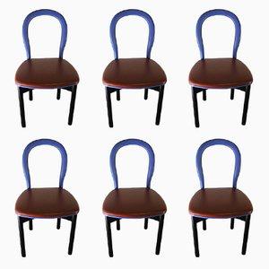 Chaise Vintage de Cassina, Set de 6