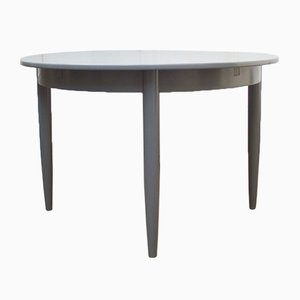 Mid-Century Grey Extendable Dining Table, 1950s