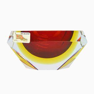 Murano Glass Ashtray by Alessandro Mandruzzato, 1960s