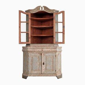 Swedish Corner Cabinet, 1760s