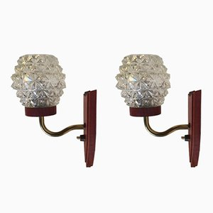 Mid-Century Danish Sconces, 1960s, Set of 2