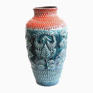 Große Vintage Vase von Bodo Mans für Bay Keramik