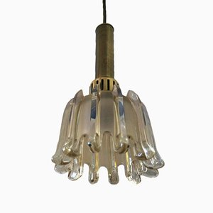 Tulip Glass Pendant Light from Doria Leuchten, 1960s