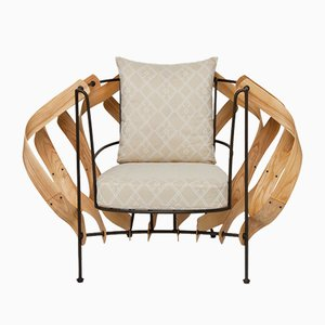 Tirintas Lounge Chair by Evangeline Pesigan
