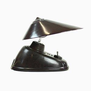 Braune Bakelitlampe von Bauhaus Team für ESC Zukov, 1930er