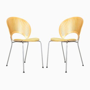 Trinidad 3296 Chairs by Nanna Ditzel for Fredericia, 1990s, Set of 2