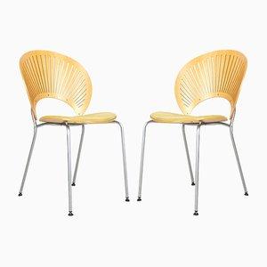 Trinidad 3296 Stühle von Nanna Ditzel für Fredericia, 1990er, 2er Set