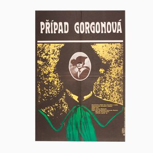 The Gorgon Case Movie Poster by Miroslav Hlaváček, 1979