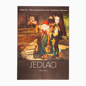 Peasants Movie Poster by Josef Vyleťal, 1975