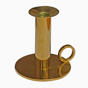 Vintage Brass Candleholder by Sigurd Persson, 1960s