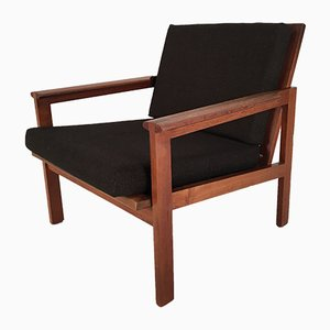 Teak Capella Chair by Illum Wikkelso for Niels Eilersen, 1960s