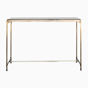 Large Prosecco Console Table with Nero Dorado Marble from Turini & Werich