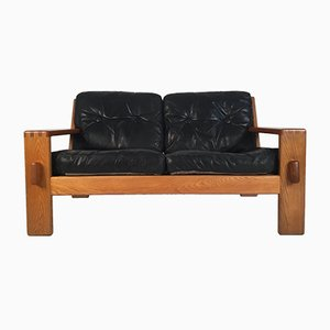 Bonanza Leather Sofa by Esko Pajamies for Asko, 1960s