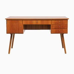 Walnut Desk, 1950s