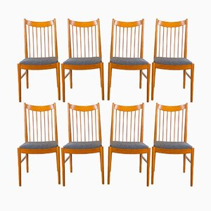 Teak Model 422 Dining Chairs by Arne Vodder for Sibast, 1960s, Set of 8