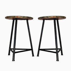 Stools from Horgenglarus, 1960s, Set of 2