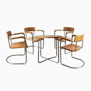 Modernist Dining Set from Vichr a Spol