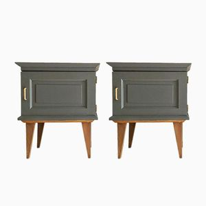 Mid-Century Night Stands, 1960s, Set of 2