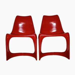 Cantilever 290 Chairs by Steen Ostergaard for Cado, 1960s, Set of 2