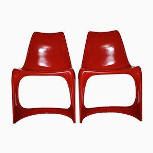 Chaises Cantilever 290 par Steen Ostergaard pour Cado, 1960s, Set de 2