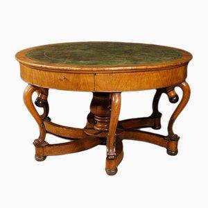 Antique Italian Cherry Table, 1880s
