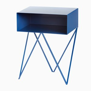 Robot Side Table in Blueberry by &New