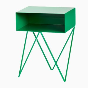 Mesa auxiliar Robot Side Table en verde de &New