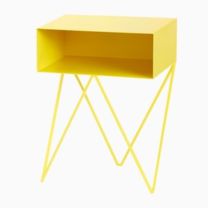 Robot Side Table in Yellow by &New