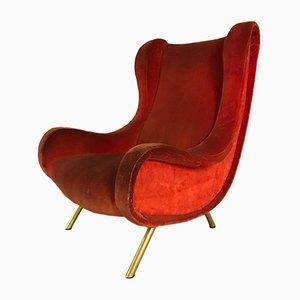 Vintage Senior Armchair by Marco Zanuso for Arflex, 1950s