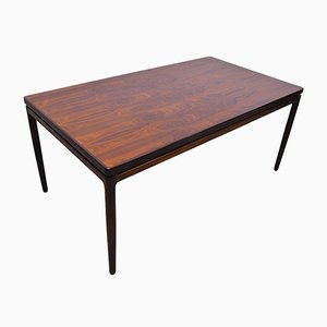 Rosewood Dining Table by Johannes Andersen for Christian Linneberg, 1960s