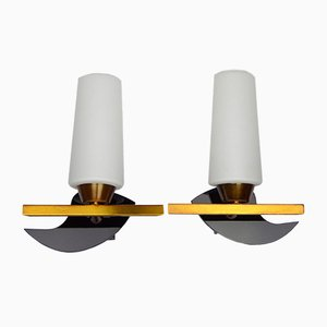 Free-Form Sconces from Maison Arlus, 1960s, Set of 2