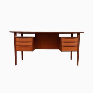 Mid-Century Teak Desk by Peter Løvig Nielsen for Lovig, 1960s
