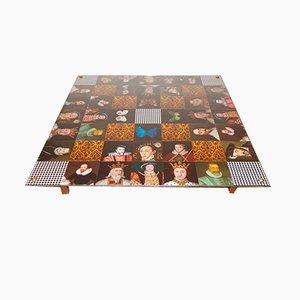 Table Basse Rois à Damier de Cappa E Spada