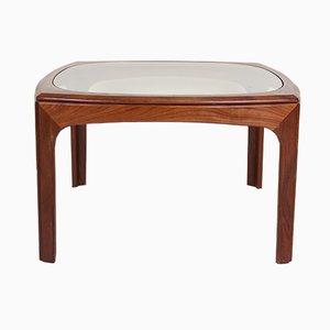 Table Basse Vintage en Teck & en Verre de G Plan