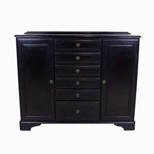 Vintage Painted Black Pine Sideboard from Ducal, 1960s