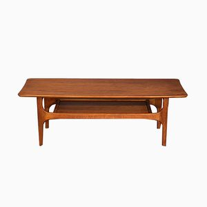 Mid-Century Two-Tier Teak Coffee Table