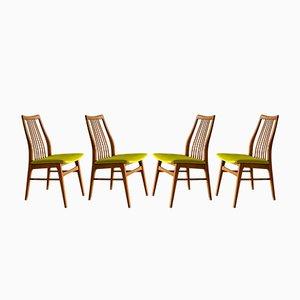 Mid-Century Esszimmerstühle von Casala, 1970er, 4er Set