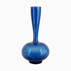 Handgeblasene Mid-Century Glasvase von Lauscha Glas, 1960er