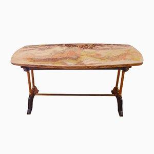 Tavolino da caffè Mid-Century in legno, anni '60