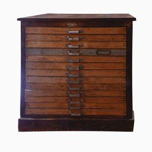 Vintage Two-Tone Cassette Dresser by Mobilio Angelo Martinoni & Figli