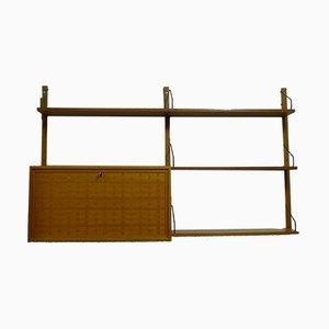 Estantería modular Mid-Century de teca de Cado Royal para Poul Cadovius, años 60
