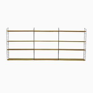 Vintage Regalleitersystem aus Eschenholz von Nisse Strinning für String