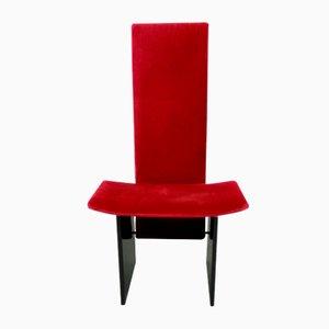 Roter Mid-Century Stuhl von Kazuhide Takahama für Gavina, 1960er